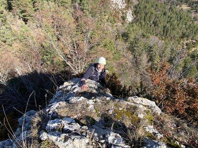Ripollés的Roca de la Creu的Ferrata大街2小时