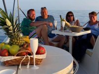 Avistamiento de delfines en barco por Fuengirola