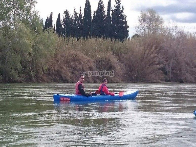 双座独木舟