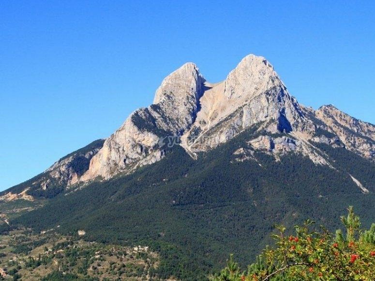Vistas del Pedraforca