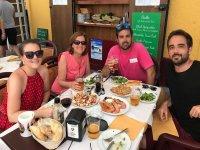 Parada gastronomica en Cadiz