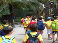 excursion durante el campamento