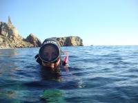 水肺潜水员Rincónde la Victoria潜水课程