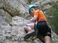 通过Barranco de la Foig的Ferrata