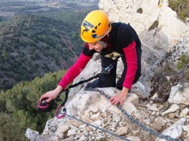 Via Ferrata on teams
