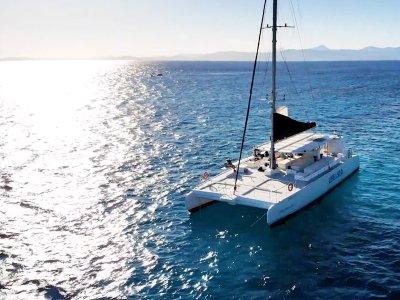 Paseo en catamarán por la Bahía de Palma 2 horas
