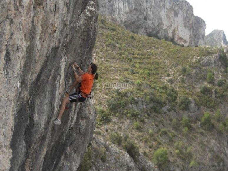 Escalada vertical