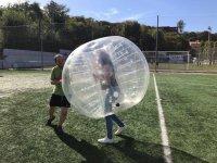 Empujando la burbuja