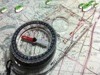 指南针和地图