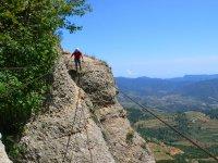 Vía Ferrata en la Morera del Montsant