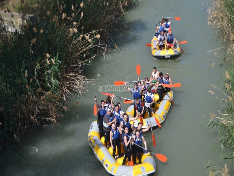 Rafting party!