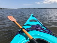 Fine del kayak