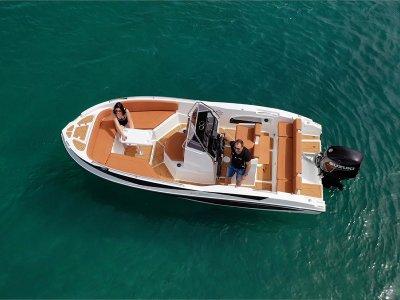 Alquiler de barco Nireus Licencia Santa Pola 8 hrs