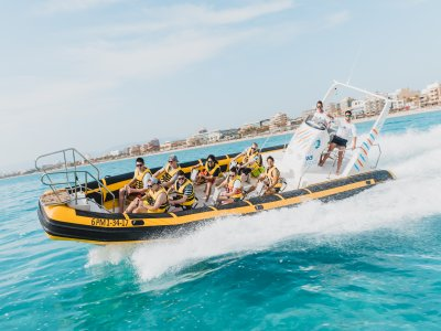 Speed Boat 1h y snorkel Bahía de Palma 25 minutos