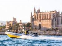 Speed Boat y snorkel en Bahía de Palma 25 minutos