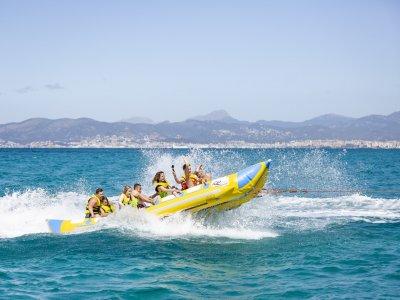Paseo en banana boat por la Bahía de Palma 10 mins