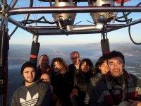 Grupo cesta vuelo Sevilla