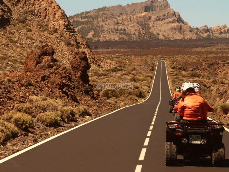 到Teide的四轮游览