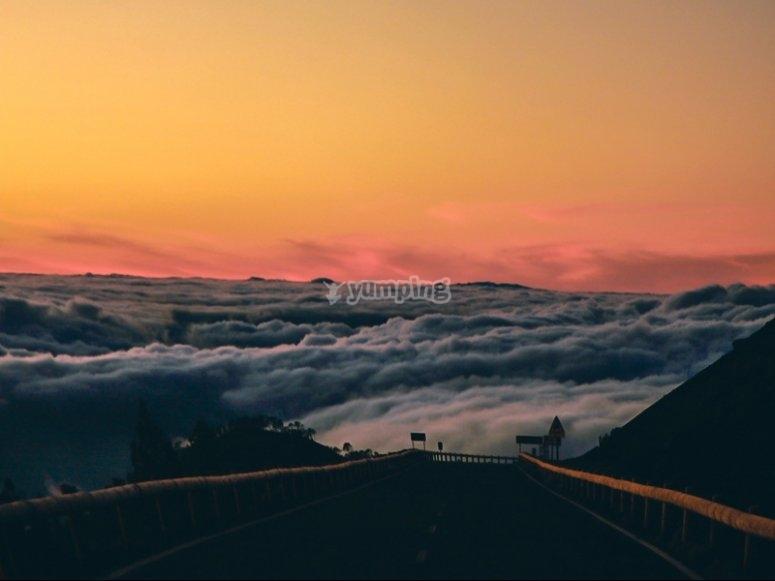 通过Teide -999的四轮路线的景色-在泰德峰上享受四轮越野之旅