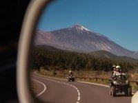 引导至Teide的四轮路线