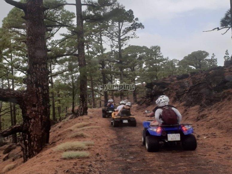 南部的四人路线-从洛斯·吉甘特斯悬崖
