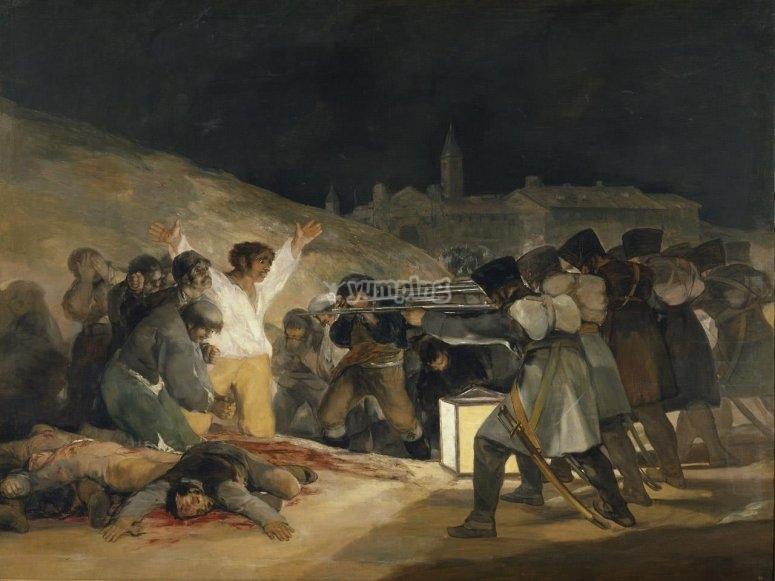 Fusilamientos del 3 de Mayo por Goya
