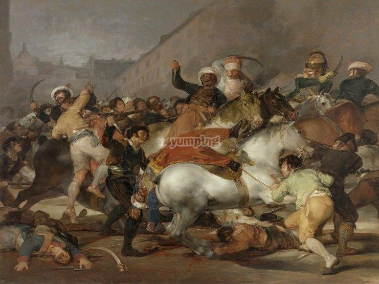 El 2 de Mayo de 1808 en Madrid a través de Goya