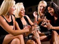 brindando con champan