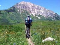 Vélo jusqu'au sommet