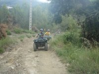 Quad expeditions on the Montnegre