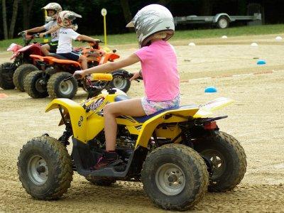Ruta en quad para niños María de Huerva 15 minutos