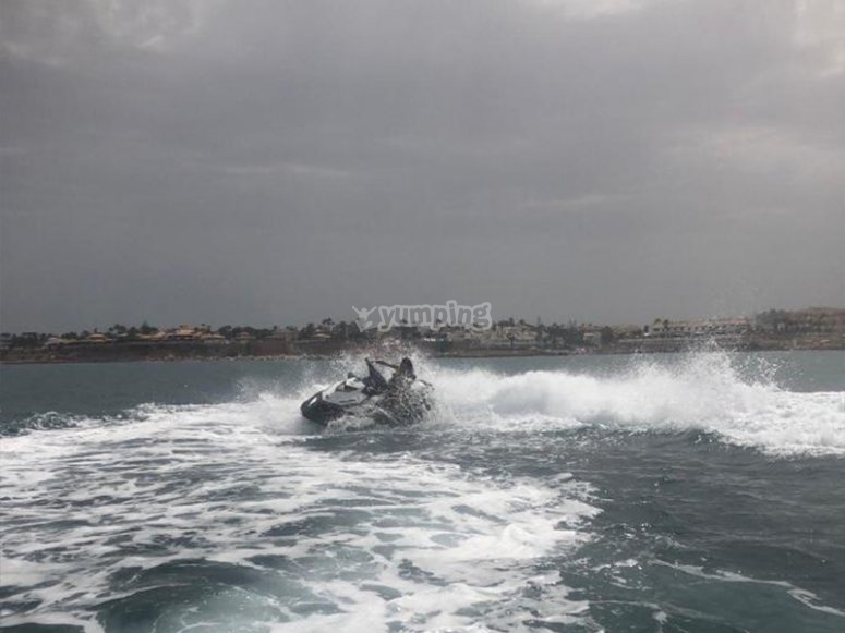Excursión en moto de agua por Orihuela