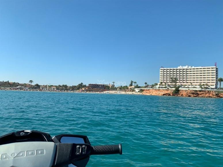 Tour guiado en moto de agua por Campoamor