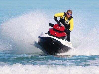 Jet ski route from Campoamor 30 minutes