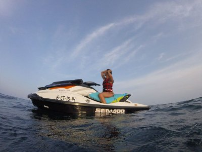 Jetski route from Orihuela 3 hours