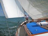 En el velero