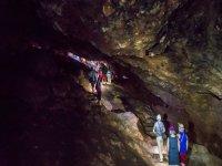Espeleología cueva de Montesinos Ossa de Montiel