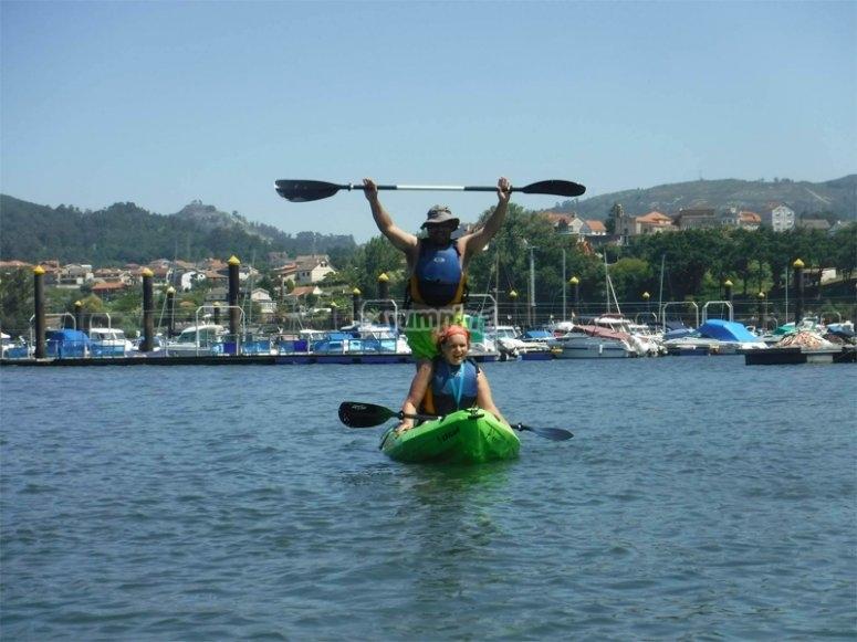 后在圣西蒙岛上乘皮划艇前往圣西蒙岛