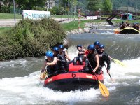 Rafting in the Segre