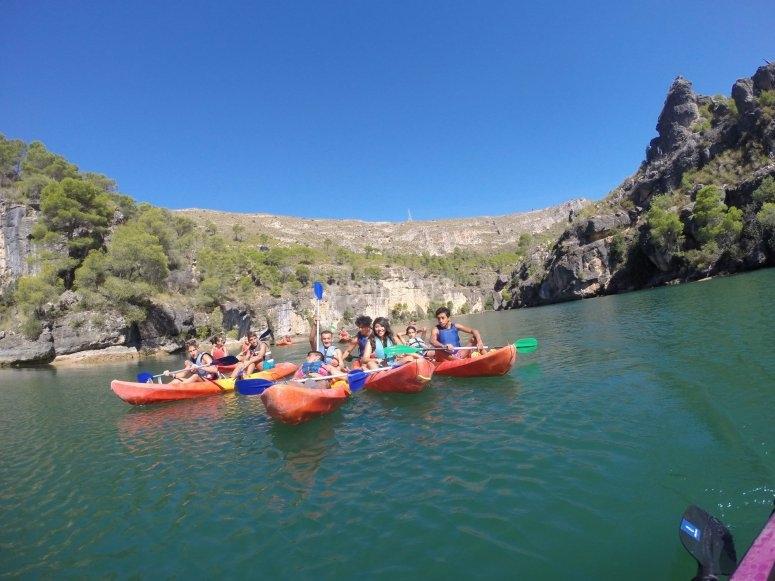 Ruta en kayak por las Hoces del Guadiela