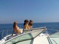 Despedida en barco