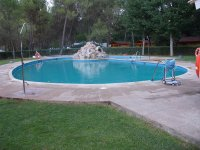 Pool for the camp