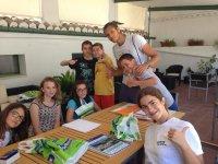 Tiempo para las clases de ingles en Cazorla