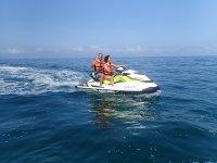 Two-seater jet ski in Águilas