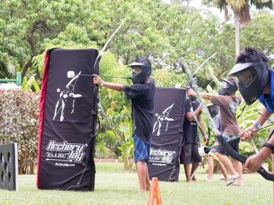Partida de archery tag en María de Huerva 90 min