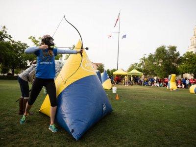 Partida de Archery Tag en María de Huerva 2 h