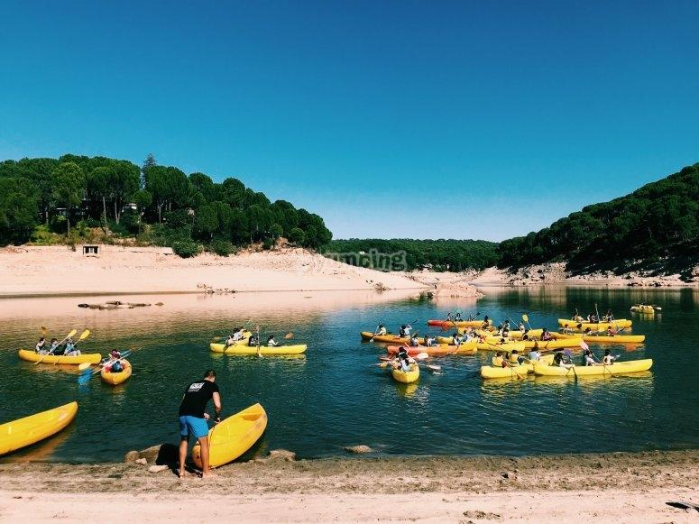 Campamento de verano Pantano de San Juan