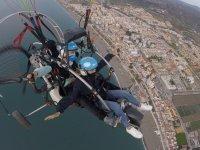滑翔伞飞行在Velez成人20分钟