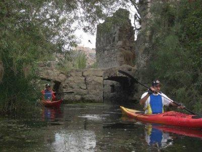 Canoeing from Miravet to Benifallet