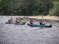 Gruppo canoe